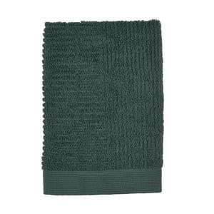 Classic sötétzöld törölköző, 50 x 70 cm - Zone