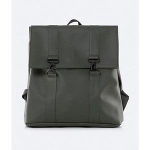 Zelený batoh s vysokou voděodolností Rains MSN Backpack