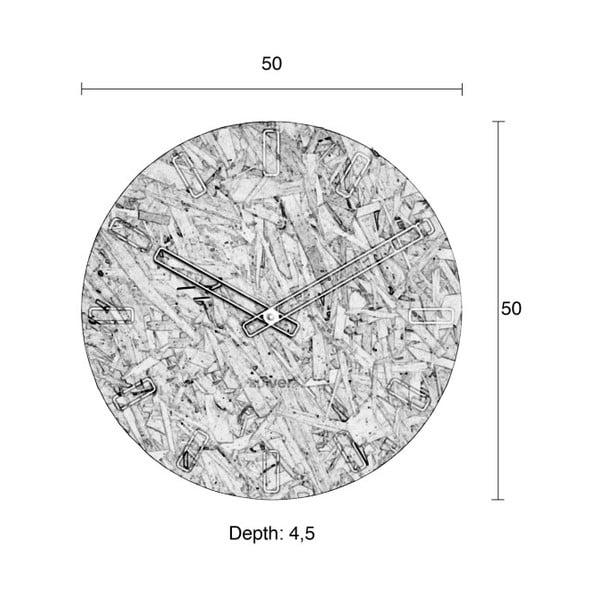 Time falióra, ø 50 cm - Zuiver