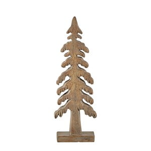 Tree Turo barna dekorációs szobor, 19 cm - KJ Collection