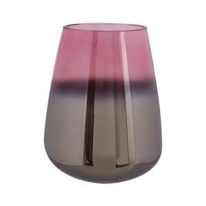 Oiled rózsaszín üvegváza, magasság 23 cm - PT LIVING