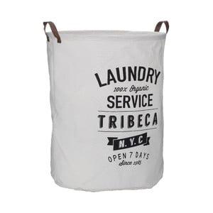 Tribeca fehér szennyestartó kosár, 54 l - Premier Housewares