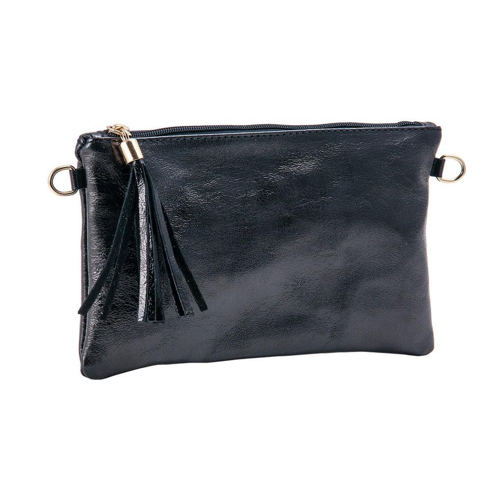 401cd4cdd1f1 Petite fekete borítéktáska / kézitáska valódi bőrből - Andrea Cardone