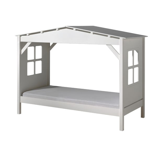 Pino Cabin fehér gyerekágy, 90x200cm - Vipack