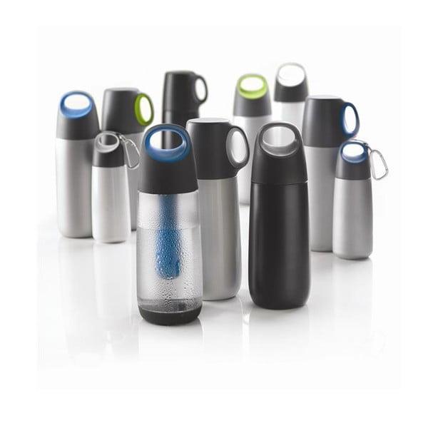Bopp zöld termosz pohárral, 600 ml - XD Design