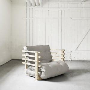 Funk Natural/Natural széthúzható fotel - Karup