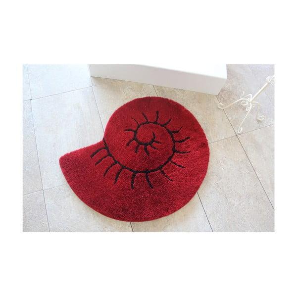 Celine kagyló formájú piros fürdőszobai kilépő