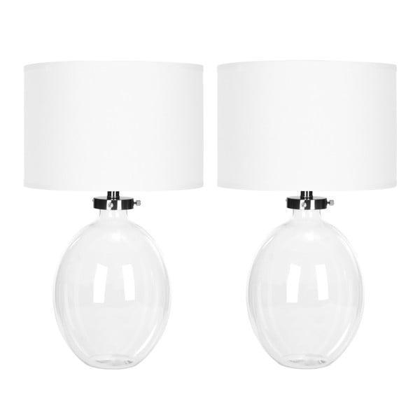 Alaina fehér asztali lámpa, 2 db - Safavieh