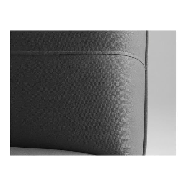 Modes sötétszürke kétszemélyes kinyitható kanapé - Custom Form