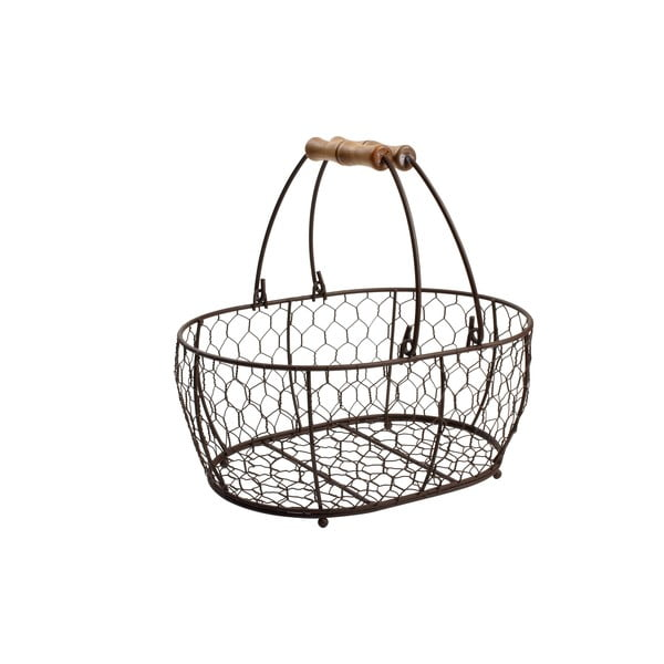 Provence fémkosár, 29 x 21 cm - T&G Woodware