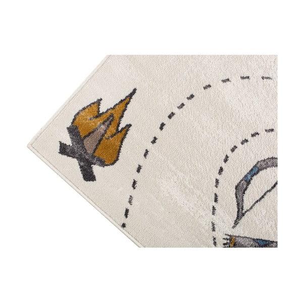 Pearl világos szőnyeg indiános mintával, 80 x 150 cm - KICOTI