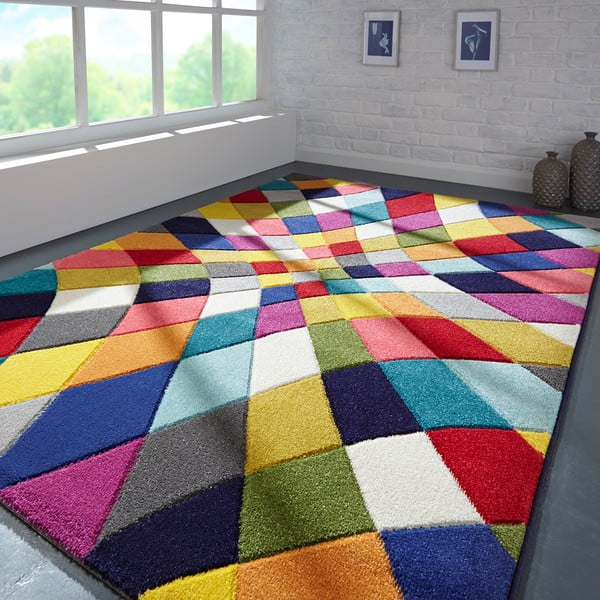 Spectrum Rhumba Multi szőnyeg, 120 x 170 cm - Flair Rugs