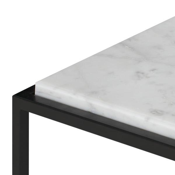 Forrest tárolóasztal fehér márványlappal - TemaHome