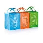 Három részes szelektív hulladékgyűjtő szett - XD Design