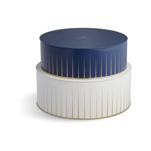 Hammershoi kék és fehér tárolókosár szett - Kähler Design