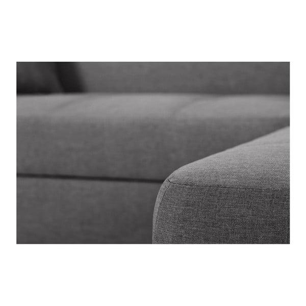 Bijou szürkésbarna kanapé, jobb oldalas - Interieur De Famille Paris