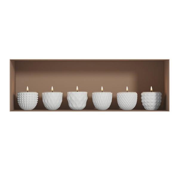 Candles 3D hatású falmatrica - Ambiance