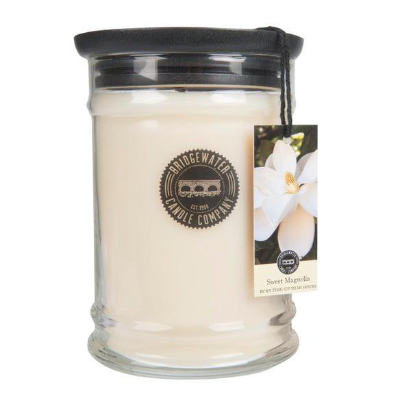 Sweet Magnolia illatgyertya üvegben, égési idő 140-160 óra - Creative Tops