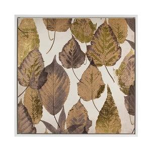 Nástěnný obraz Santiago Pons Brown Leaves, 104x104cm