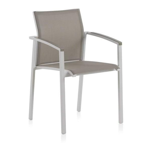 Lour fehér kerti székkészlet zöld ülőkével, 2 részes - Geese