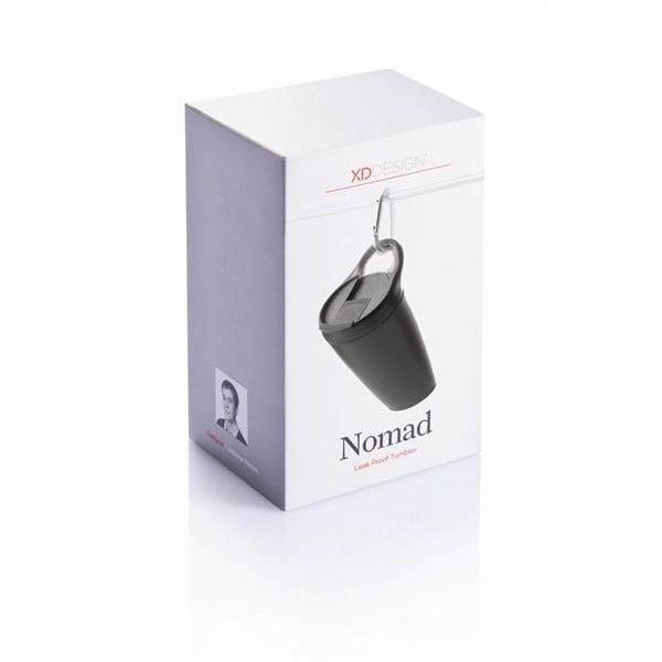 Nomad fekete bögre, 400 ml - XD Design