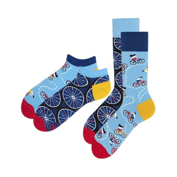 Bicycles 2 pár zokni hosszú és rövid szárral, méret 35-38 - Many Mornings