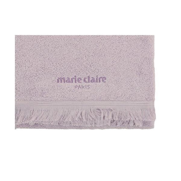 Marie Claire lila törölköző