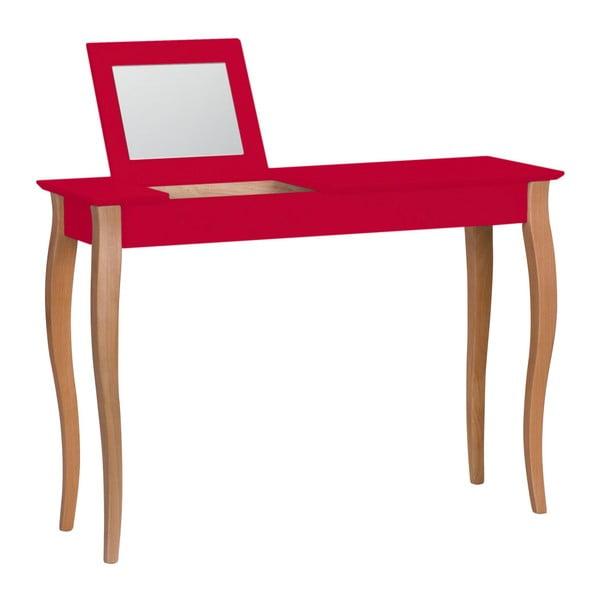 Lillo piros fésülködőasztal tükörrel, szélesség 105 cm - Ragaba