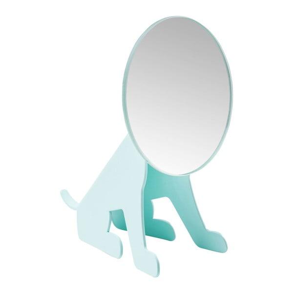 Dog mentolkék asztali tükör - Kare Design