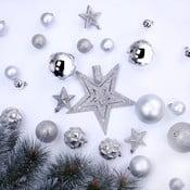 Star 100 darabos karácsonyfadísz szett - DecoKing