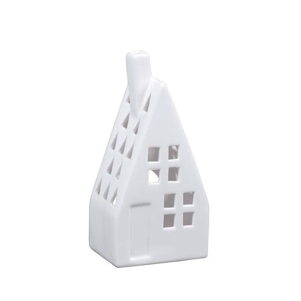 Házformájú porcelán gyertyatartó - Ego Dekor