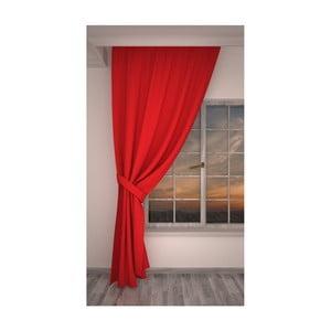 Rosario piros függöny, 140 x 270 cm
