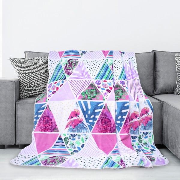 Kaleidoscope mikroszálas takaró, 70 x 150 cm - AmeliaHome