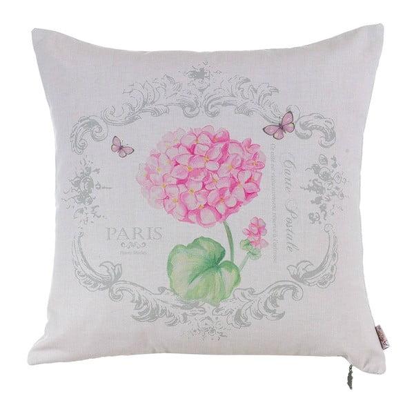 Pink Hortensia párnahuzat - Apolena