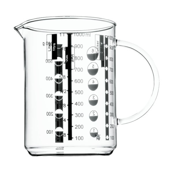 Üveg mérőkancsó, 1 l - WMF