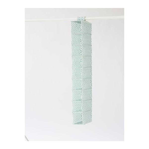 Zöld szervező ruhásszekrénybe, szélessége 15 cm - Compactor