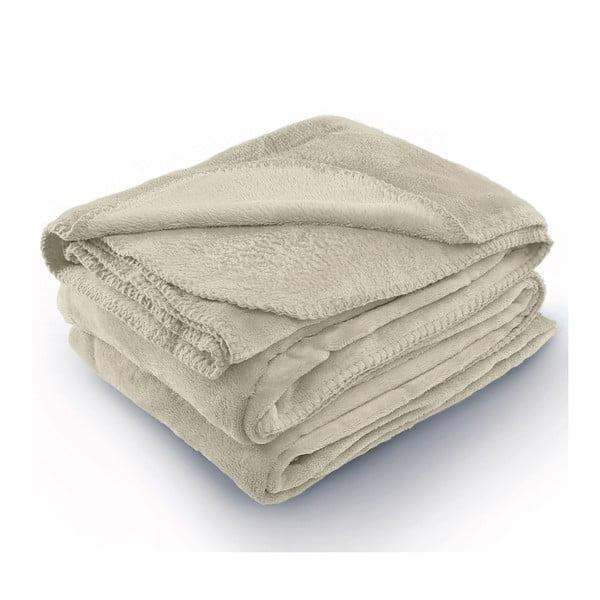 Tyler bézs mikroszálas takaró, 150 x 200 cm - AmeliaHome