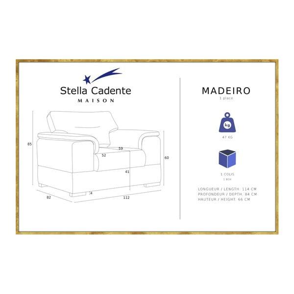 Madeiro világoszöld fotel - Stella Cadente Maison