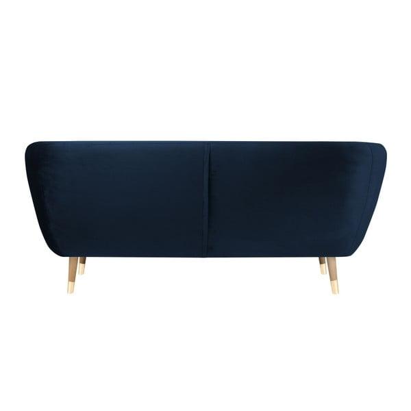 Benito sötétkék háromszemélyes kanapé - Mazzini Sofas