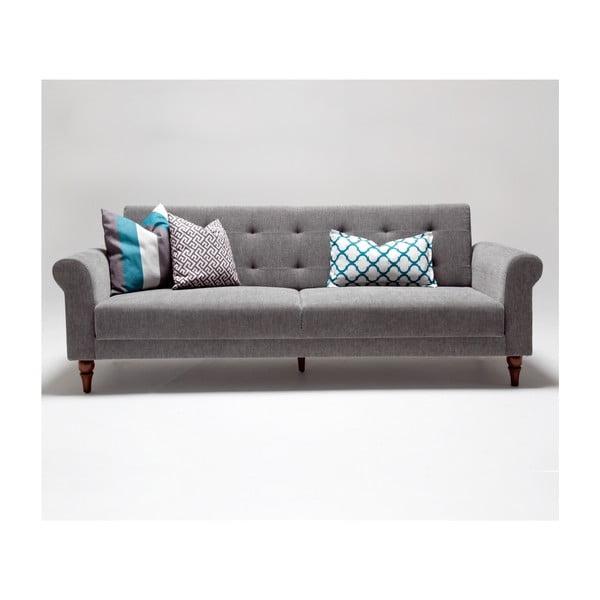 Home Gina szürke kinyitható kanapé - Balcab