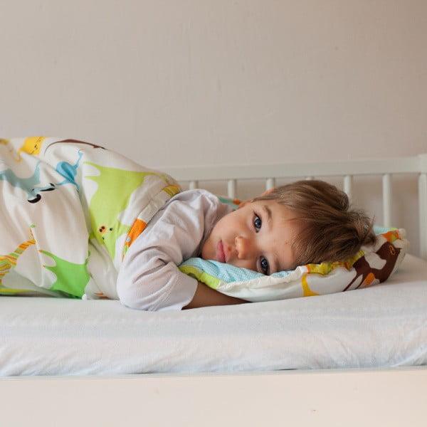Gyerek hálózsák, színes állatos motívummal, 70 x 200 cm - Bartex Design