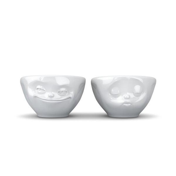2 db-os fehér 'szerelmes' csészeszett, 100 ml - 58products