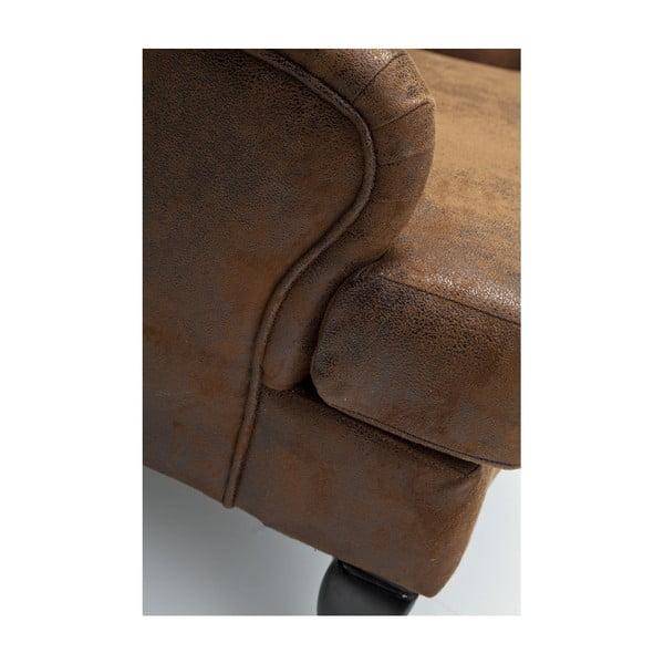 Vintage barna füles fotel - Kare Design