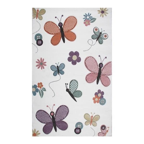 Butterfly gyermekszőnyeg, 160 x 230 cm - Eco Rugs