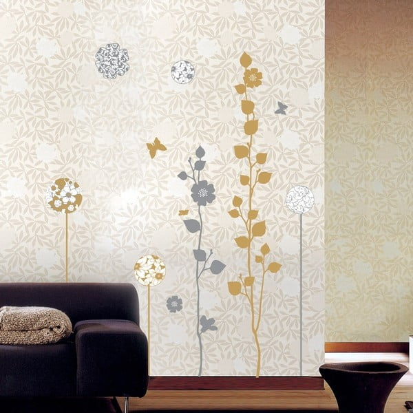 Elegang Sand and Grey Trees falmatrica szett - Ambiance