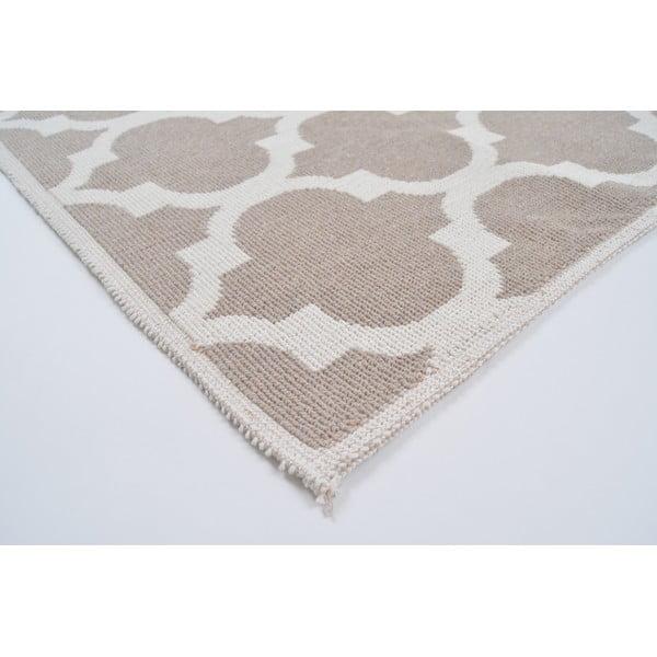 Madalyon Bej ellenálló szőnyeg, 60 x 90 cm - Vitaus