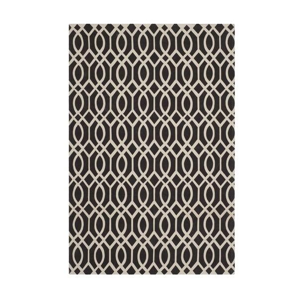 Salvano fekete szőnyeg, 243x152 cm - Safavieh