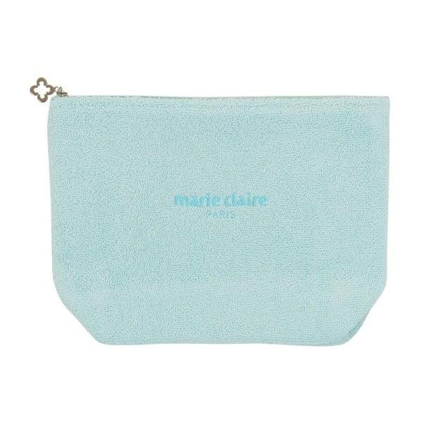 Marie Claire világoskék kozmetikai táska, hossz 22 cm
