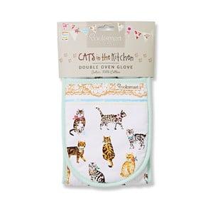 Cats on Parade dupla edényfogó - Cooksmart England