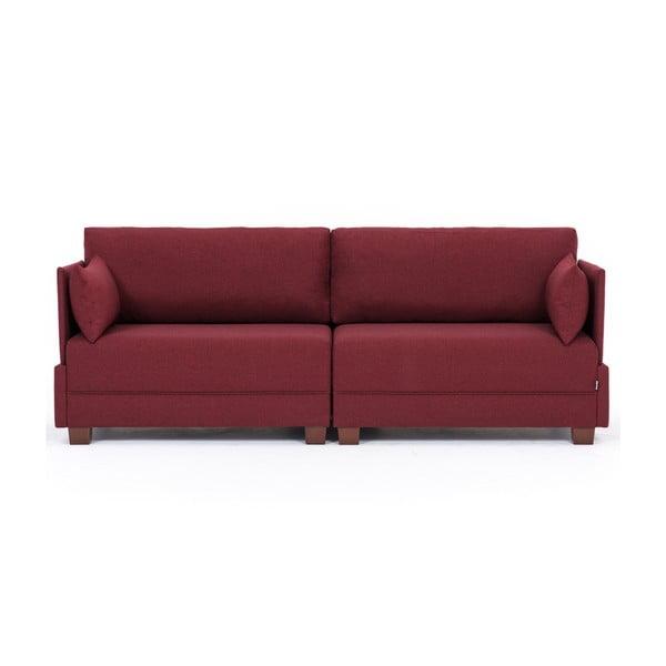 Home Lucy borvörös kanapé - Balcab